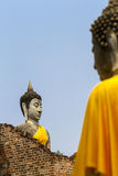 Two apostle buddha Stock Images