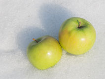 Two apple Royalty Free Stock Image