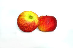 Two apple isolate Royalty Free Stock Photos