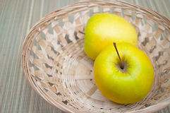 Two apples Stock Image