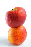 Two apples Royalty Free Stock Images