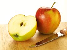 Two apples, isolated Stock Photo