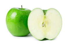 Two apples isolated Stock Photo
