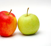 Two apples Stock Photo