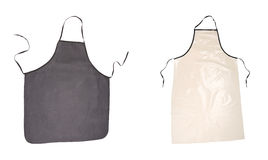 Two aprons black and pink. Stock Photo