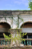 Two arch of aged building Stock Images