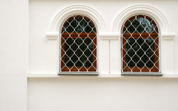 Two arch window Royalty Free Stock Photo
