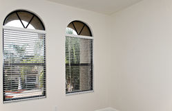 Two arched windows Royalty Free Stock Photography