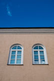 Two arched windows Royalty Free Stock Images