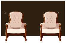 Two arm chair Stock Image