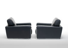 Two arm chairs Stock Photos