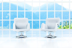 Two armchairs Stock Photo