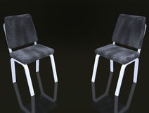 Two armchairs for discussion Royalty Free Stock Image