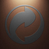 Two arrows Stock Photos