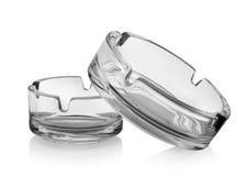 Two ashtrays Royalty Free Stock Photo