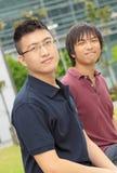 Two asia man Stock Photo