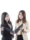 Two asian business Royalty Free Stock Photo