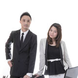 Two asian business Stock Photo