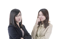 Two asian business Stock Photography