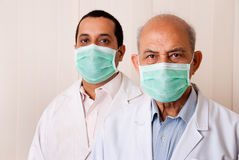 Two Asian doctors Royalty Free Stock Photography