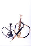 Two asian hookah Royalty Free Stock Photo