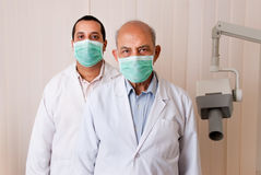 Two Asian / Indian doctors Stock Image