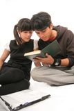 Two Asian student Stock Photography
