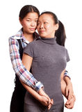 Two Asian Woman Royalty Free Stock Image