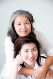 Two asian women Royalty Free Stock Photo