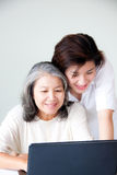 Two asian women Royalty Free Stock Photos