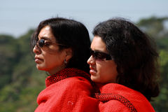 Two Asian women Royalty Free Stock Photos