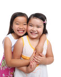 Two Asian Young Sisters Royalty Free Stock Photography