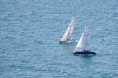 Two Asso 99 sailing during Centomiglia 2012 Stock Photos