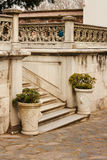 Two atique vases in Topcapi palace, Istanbu Royalty Free Stock Image