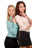 Two attractive teenage girls Royalty Free Stock Image