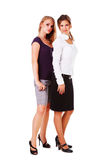 Two attractive young girl Stock Photography