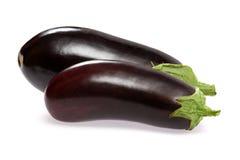 Two aubergine Stock Photos