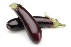 Two Aubergine Stock Image