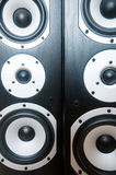 two audio speakers Stock Photo