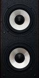 Two audio speakers. In one body Stock Images
