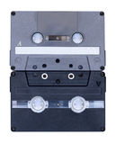 Two audio tapes Royalty Free Stock Photos