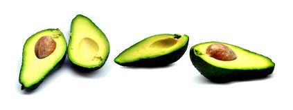 Two avacados Royalty Free Stock Images