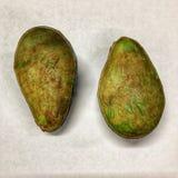 Two avocado half Royalty Free Stock Image