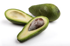 Two Avocado Royalty Free Stock Images