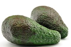 Two avocados Royalty Free Stock Photography