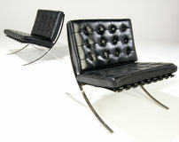 Two bacelona chairs Royalty Free Stock Image