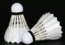 Two badminton royalty free stock photo