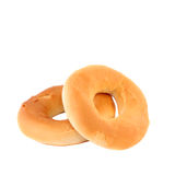 Two bagels Royalty Free Stock Images
