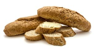 Bran bread Royalty Free Stock Photos