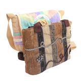 Two bags of fabric . royalty free stock images